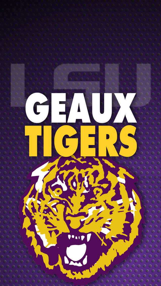 LSU iPhone 5 wallpaper TigerDroppingscom 640x1136