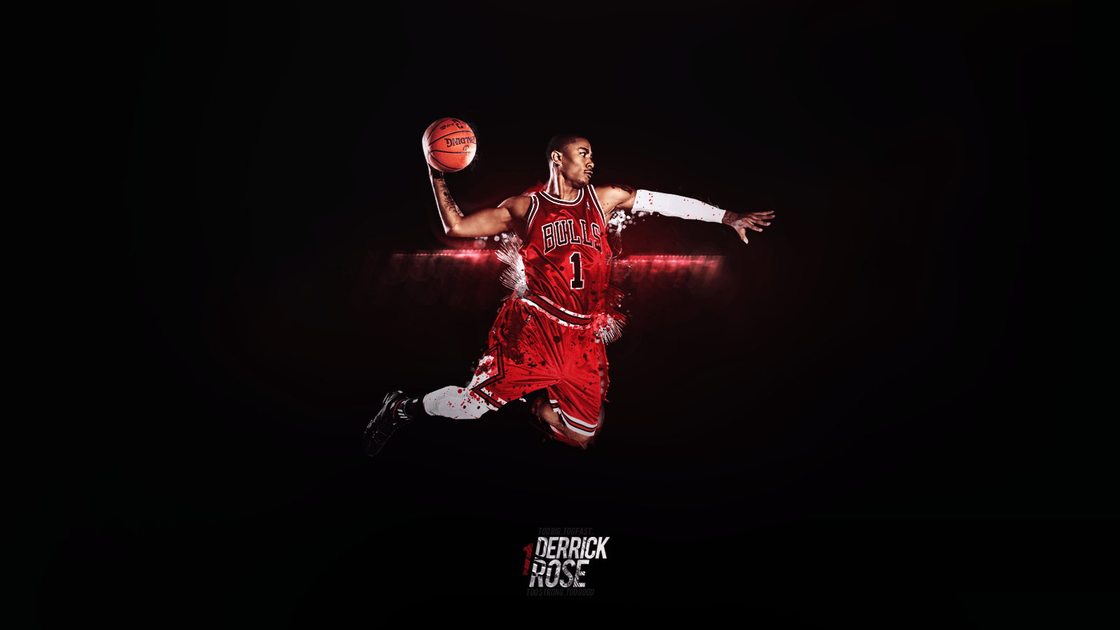 Derrick Rose Dunk Wallpapers 1600x900