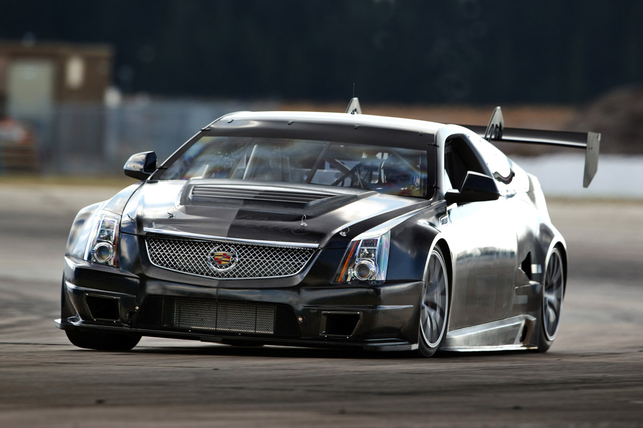 Cadillac CTS V Race Car Hits The Track For First Time 1280x853