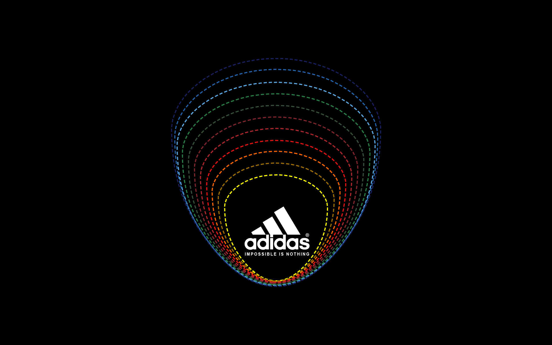Adidas Impossible Is Nothing HD Wallpaper 1920x1200
