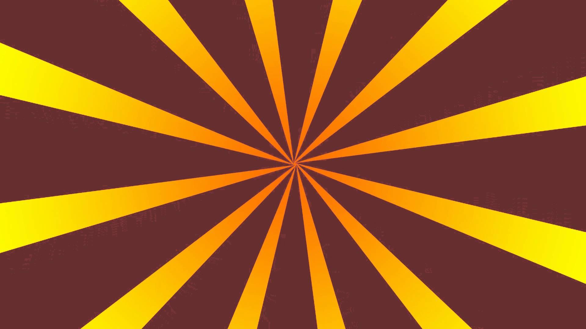 GFX Animation Rotation Background Red Orange 1920x1080