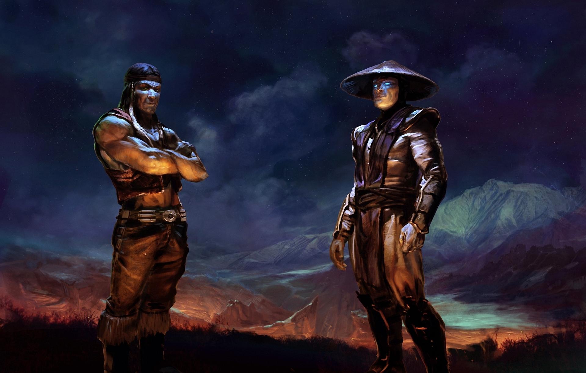 Mortal Kombat Men Warriors Games warrior warriors wallpaper background 1920x1223