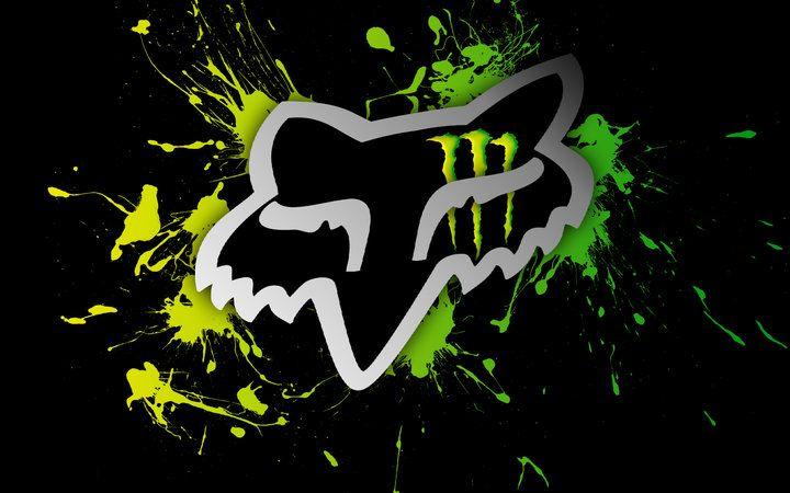 monster energy fox logo sport Logos Fox Racing Wallpapers Monster 720x450