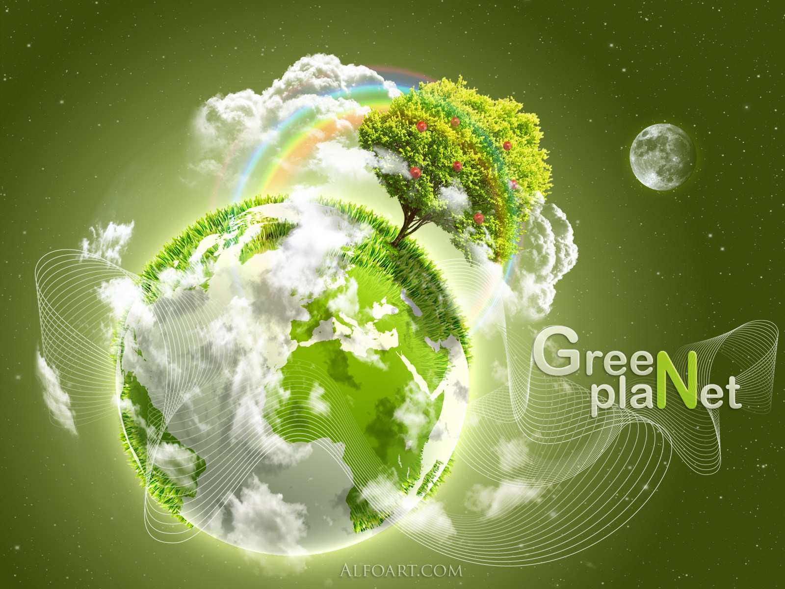 Earth Day Green Planet Exclusive HD Wallpapers 2537 1600x1200