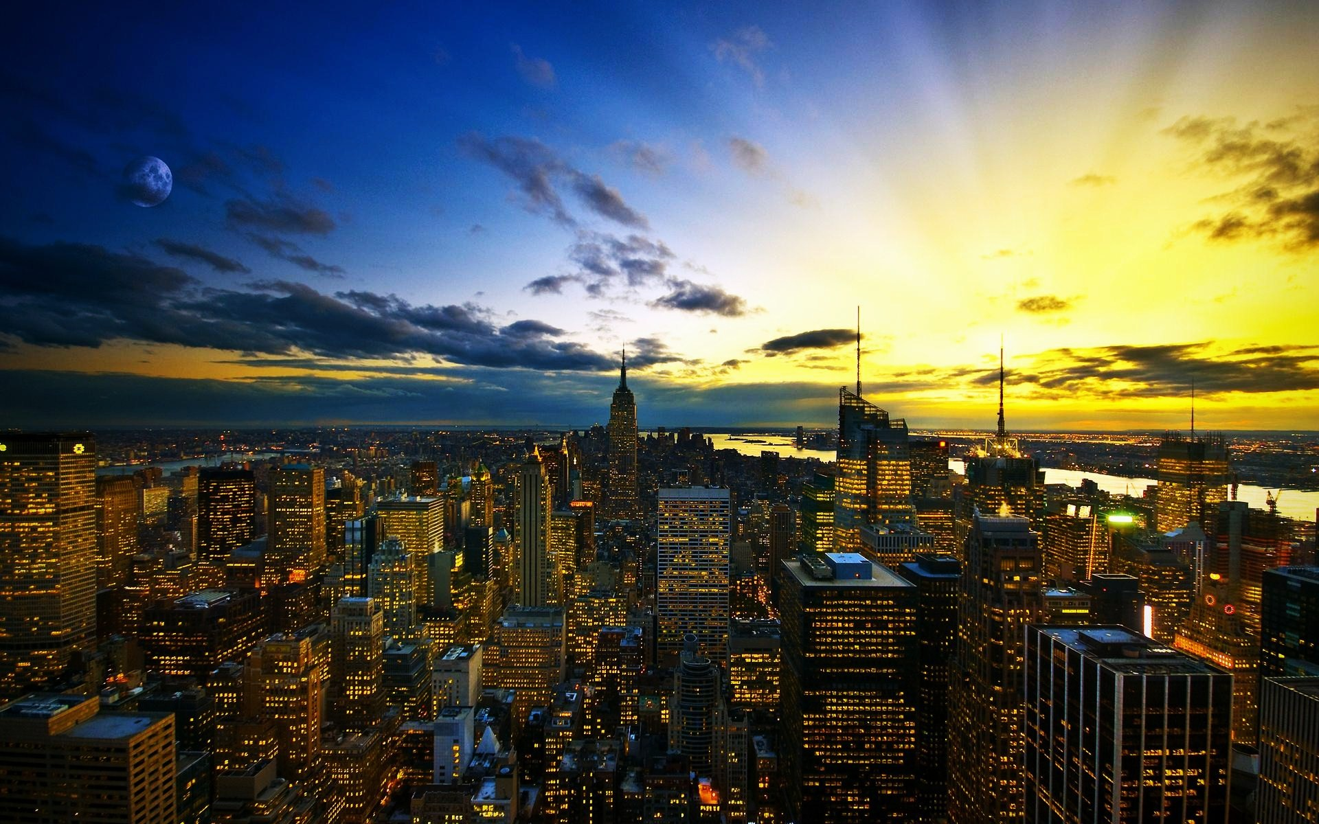 New York City desktop wallpaper 1920x1200