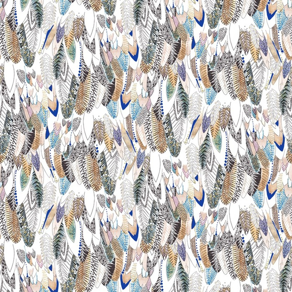 Brown Feathers New Wave Designer Bird Feather Motif Wallpaper 50 803 1000x1000