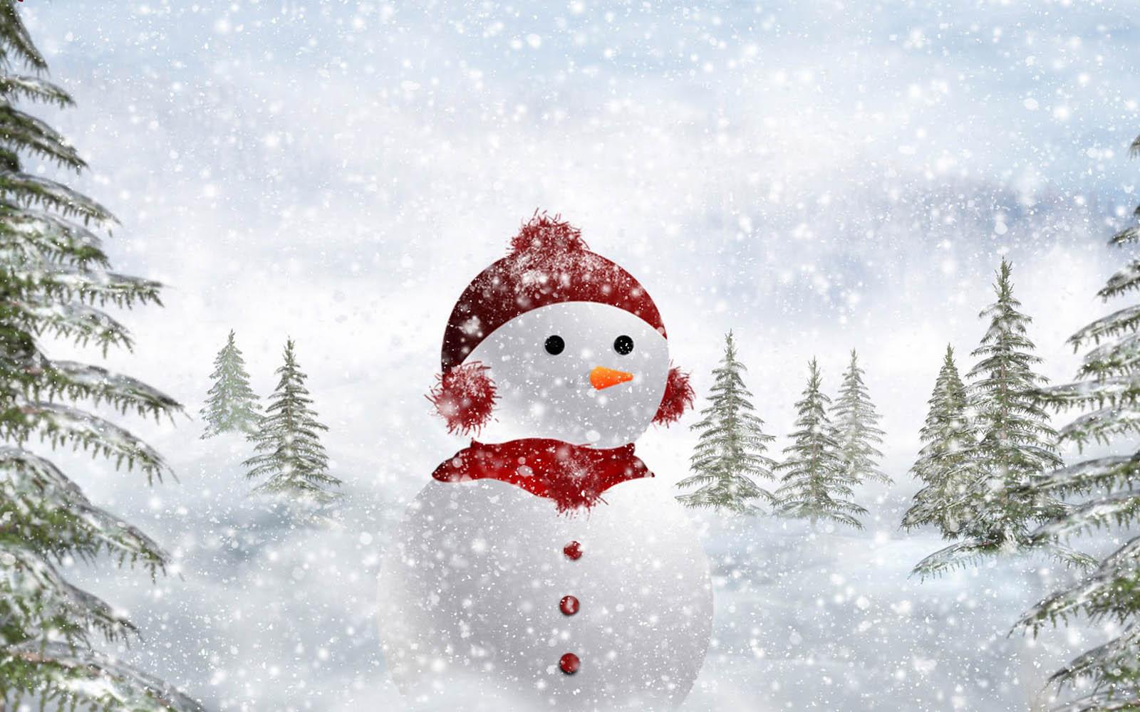 73] Snowmen Backgrounds on WallpaperSafari 1600x1000