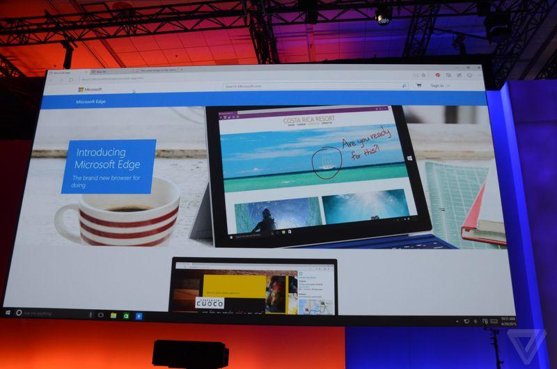 Microsoft Edge es el nuevo navegador web de Redmond Codigo Geek 800x530