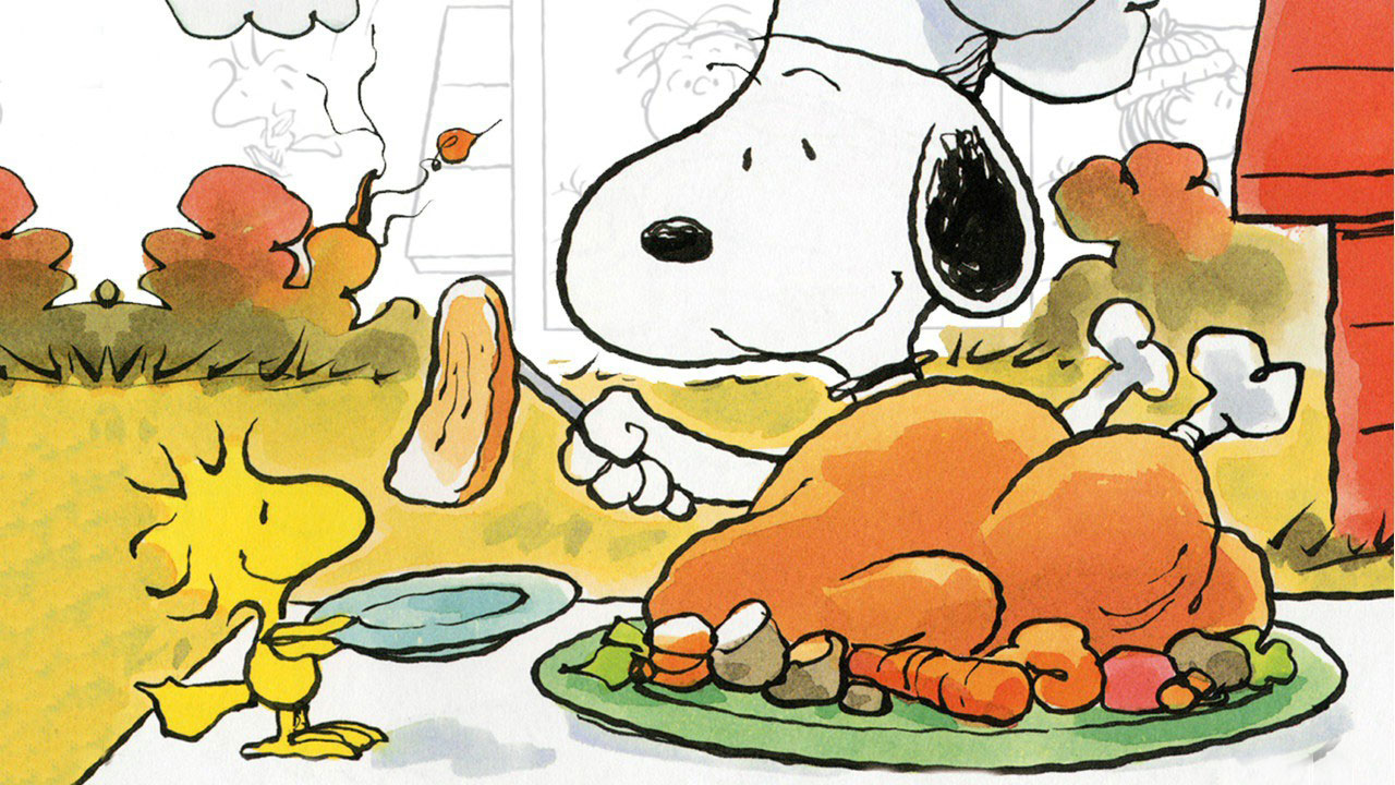 Snoopy Thanksgiving Wallpaper Snoopy Thanksgiving Computer Wallpaper 1280x720