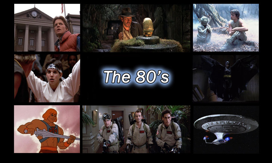 80s Movie Characters Wallpaper 900x540