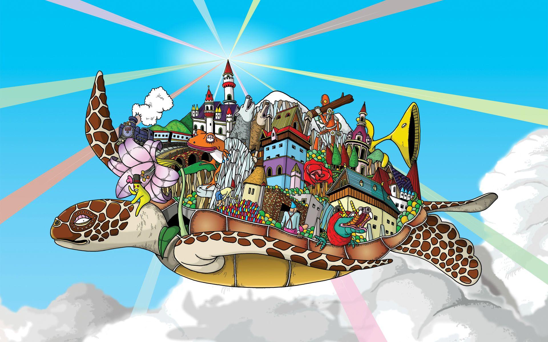 Discworld Wallpaper   Enjoy fellow Pratchett fans not OP   Imgur 1920x1200