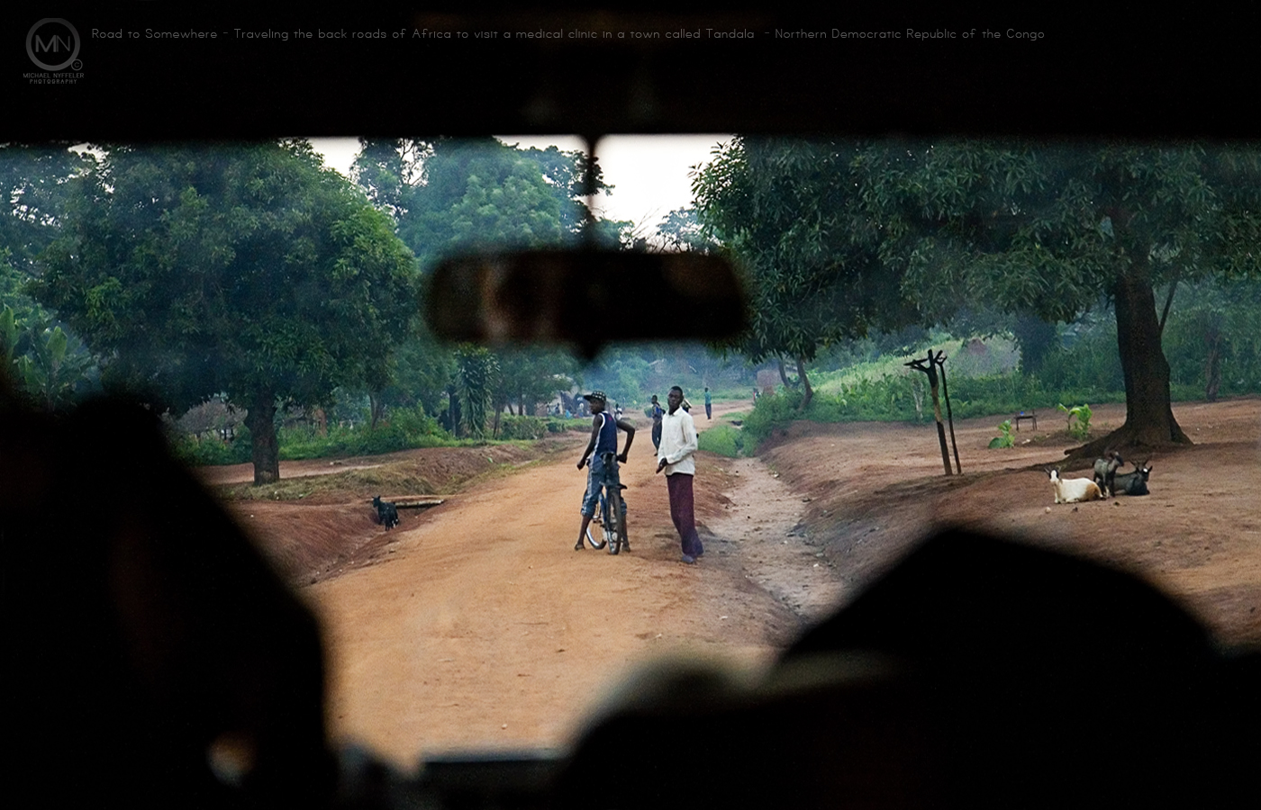 Road to Somewhere Democratic Republic of the Congo 1400x900