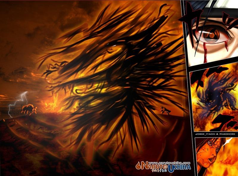Fuck Yeah Akatsuki Itachi Amaterasu Susanoo wallpaper 800x592