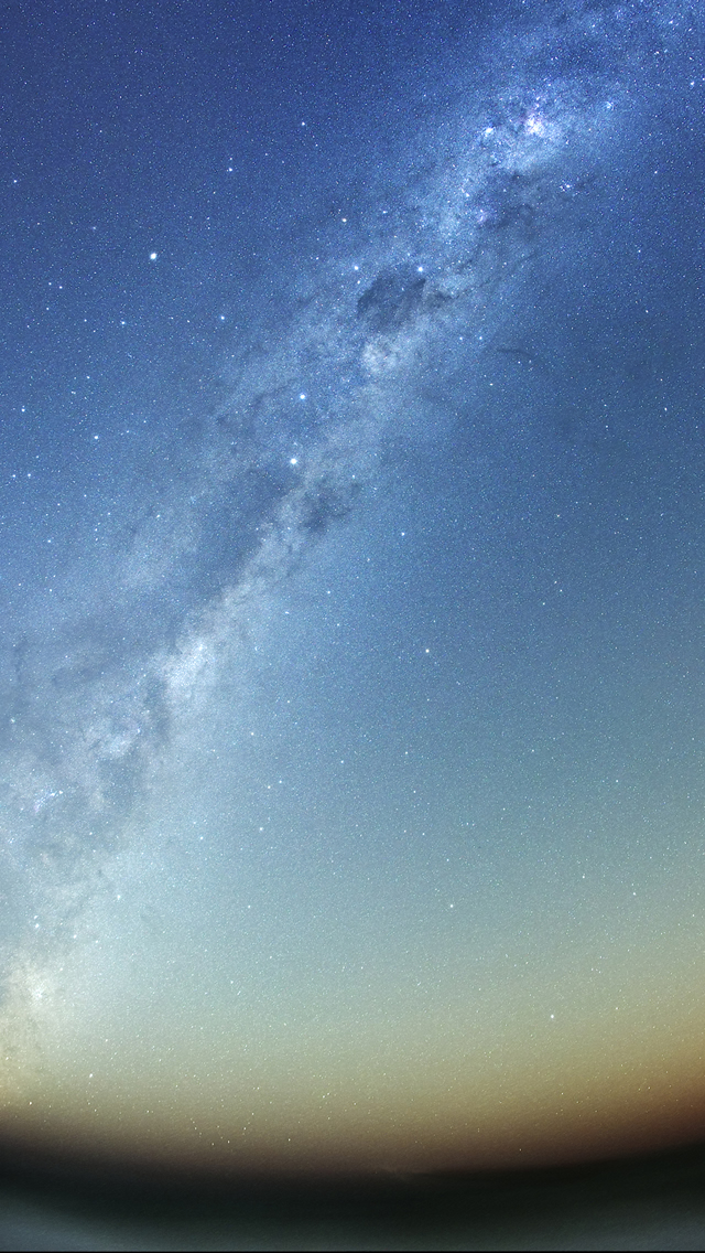 Milky Way Galaxy iPhone 5s Wallpaper Download iPhone Wallpapers 640x1136