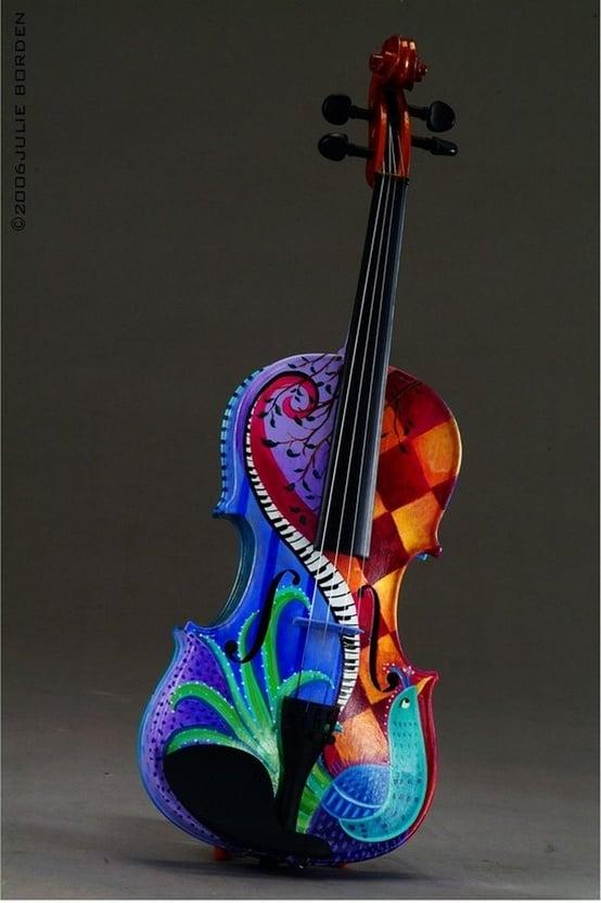 Beautiful violin wallpaper wallpapersafari for Beautiful creative art
