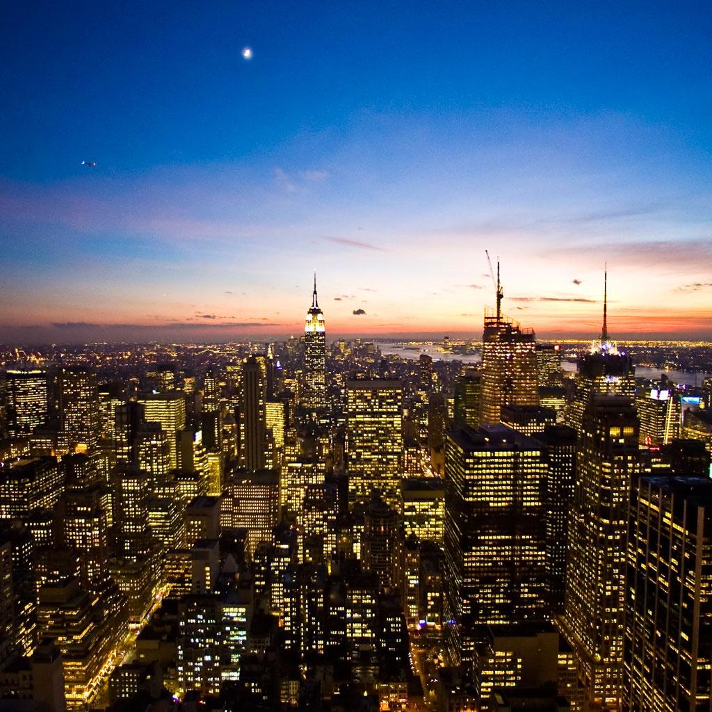 New York Skyline | iPad Wallpaper - Download free iPad wallpapers ...