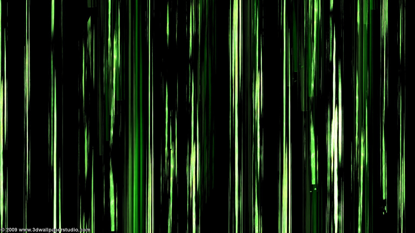 Free download Green neon wallpaper in 1366x768 screen