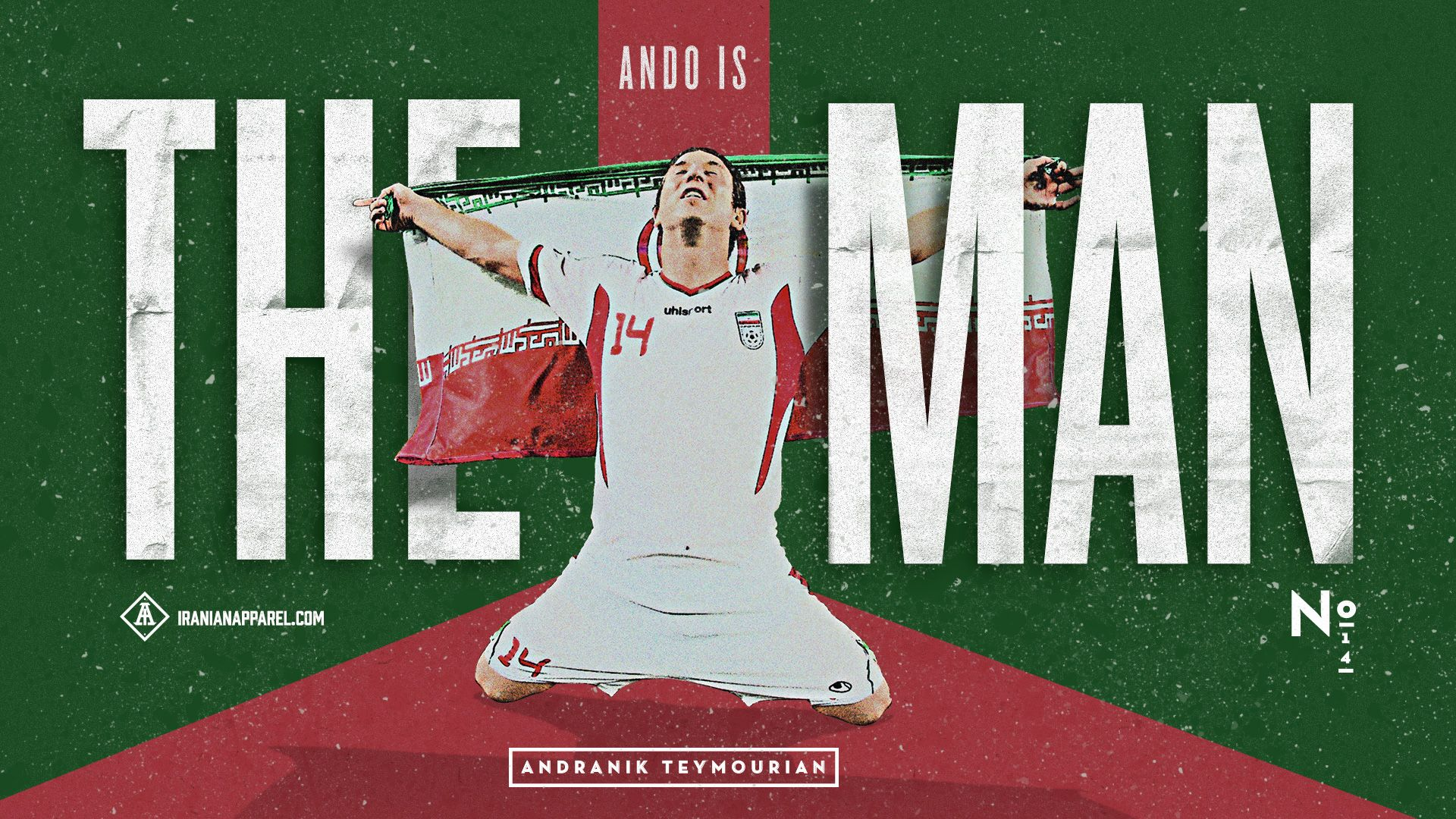 Team Melli Goodies by Iranian Apparel 1920x1080