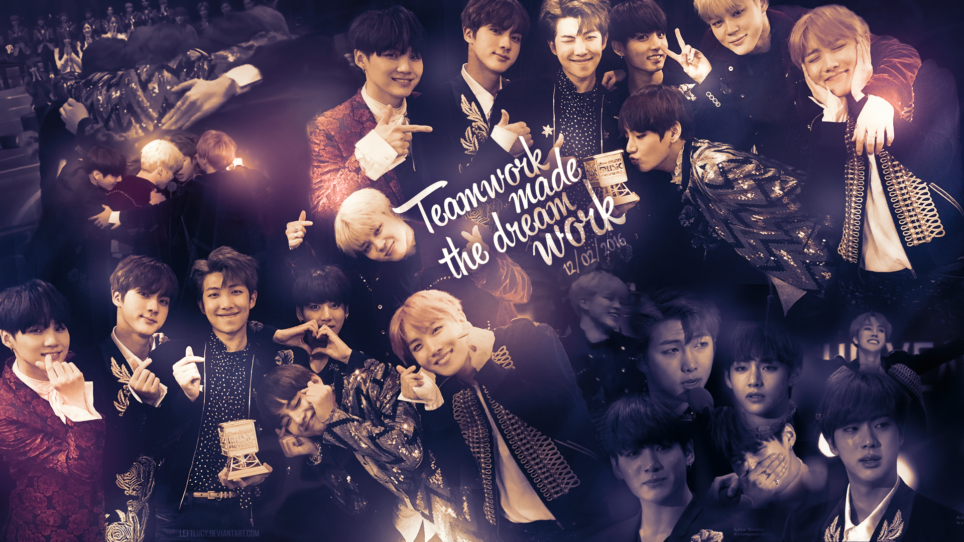 BTS wallpaper by LeftLucy 1920x1080