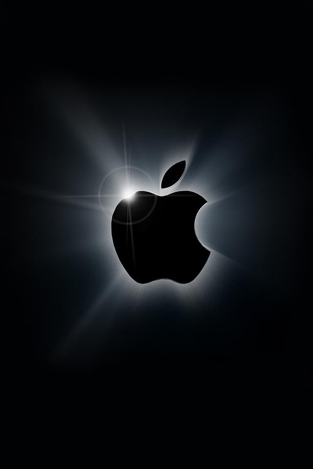 Apple Logo iPhone Wallpaper HD 640x960
