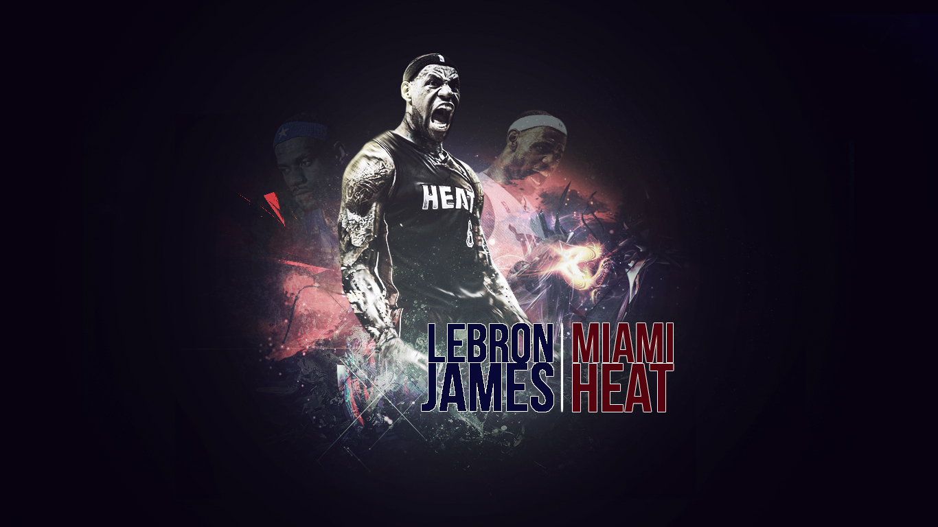All Sports Stars Lebron James Wallpapers 1366x768