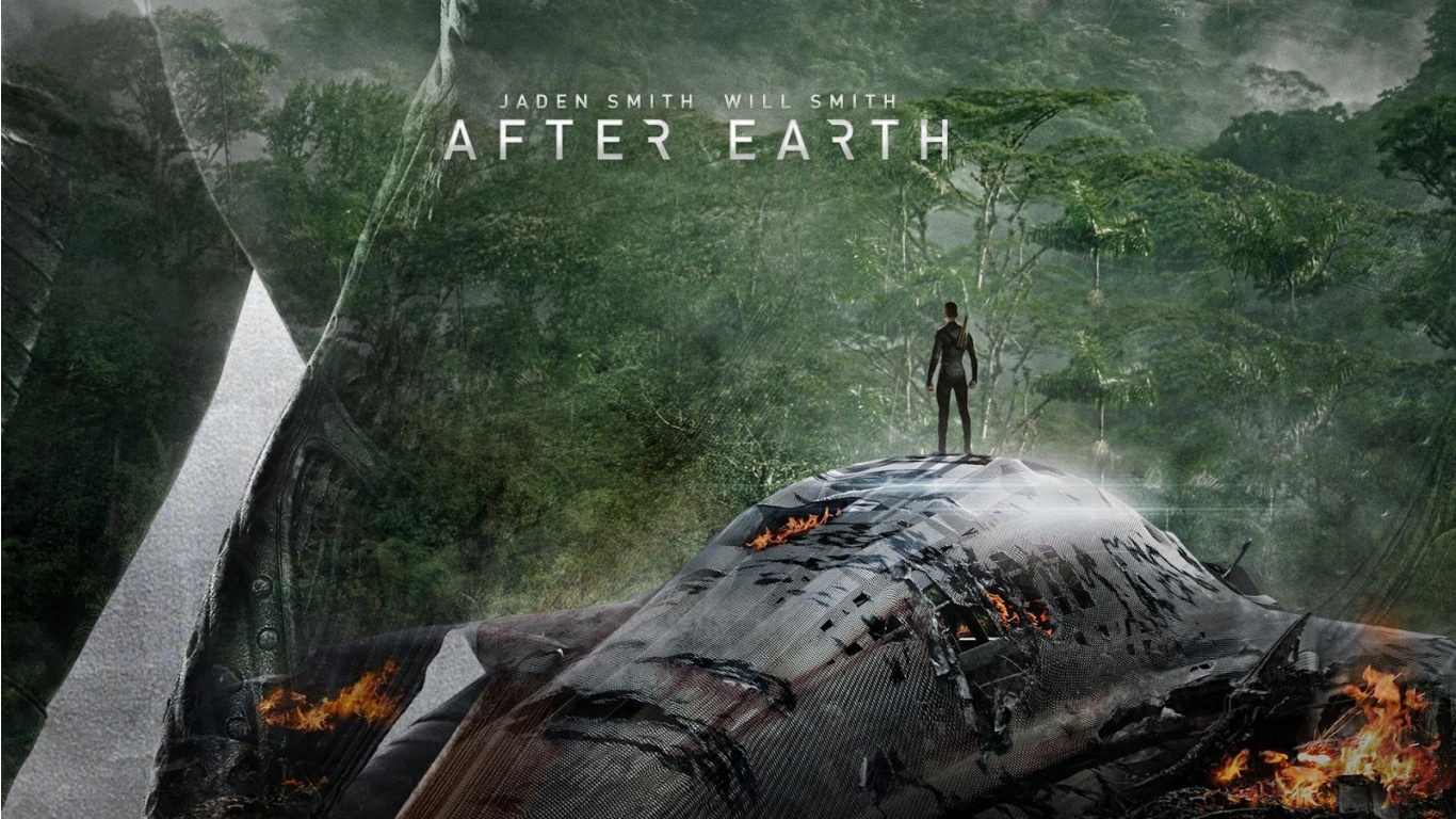 After Earth Post HD Wallpaper Background Images 1366x768
