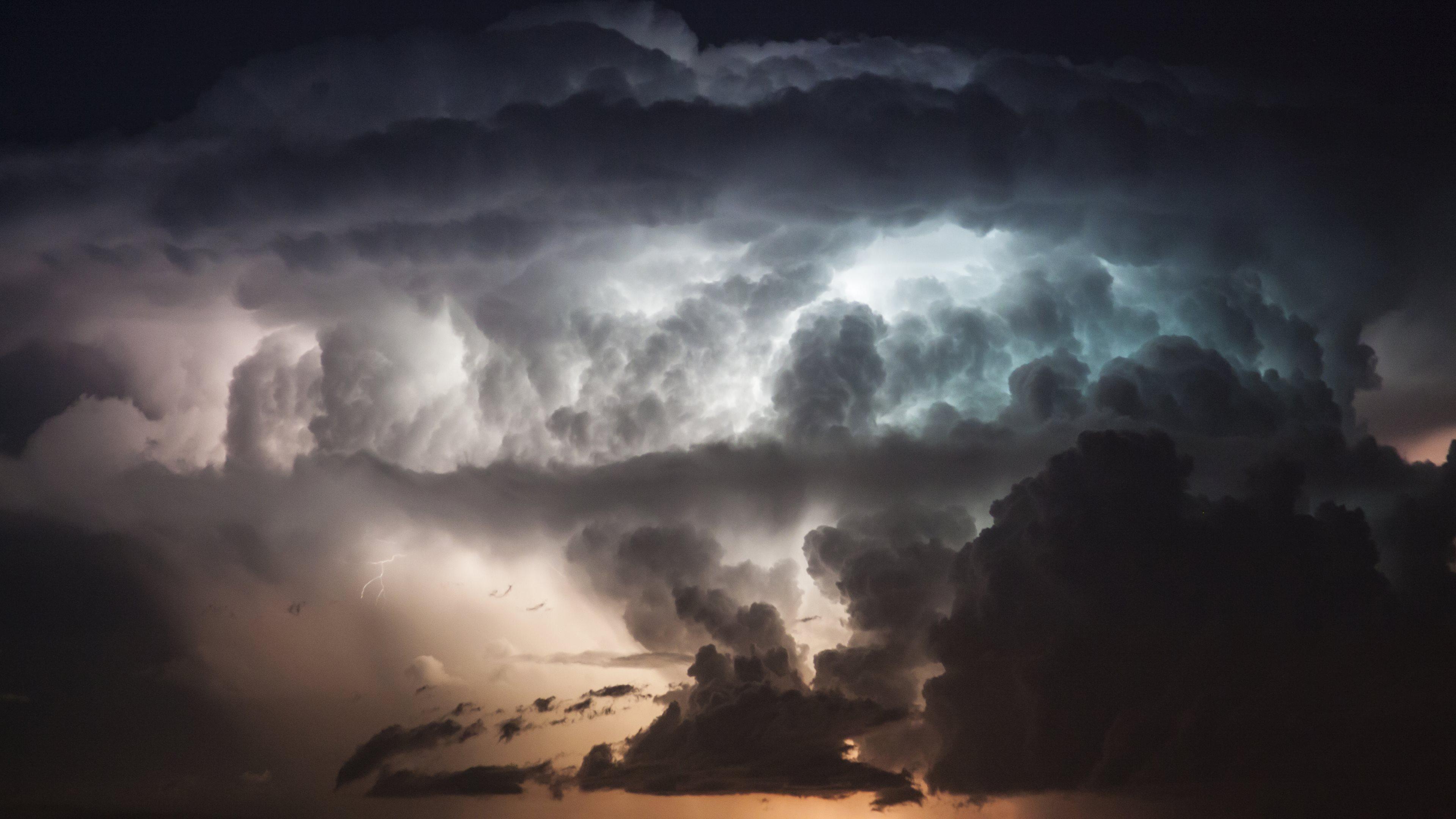 Thunderstorm wallpaper hd wallpapersafari - Lightning wallpaper 4k ...