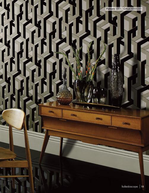 Designer Wallpaper   Kaleidoscope Wallpaper Collection 502x650