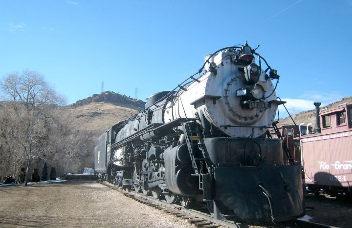 Steam Locomotive Train Wallpaper 720x467