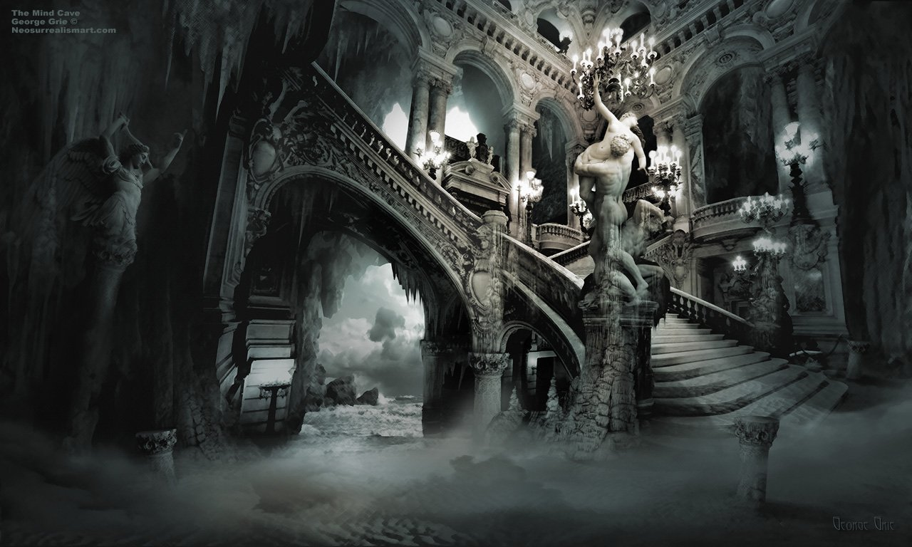 Gothic wallpaper for home wallpapersafari for Wallpaper home wallpaper