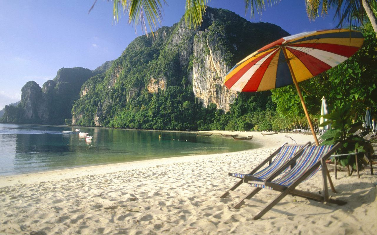 Thailand Beach Laptop Wallpaper 1280x800