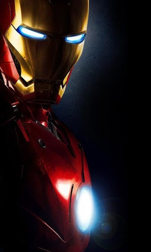 View bigger   Iron Man A HD Live Wallpapers for Android screenshot 307x512