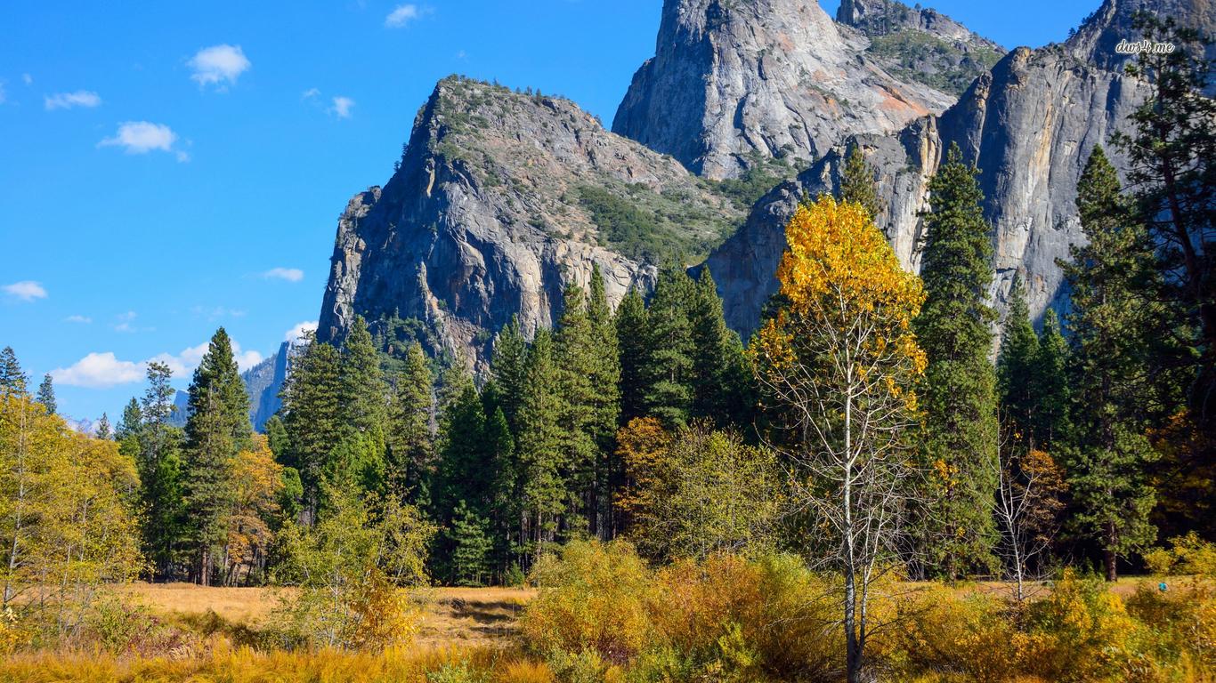 Yosemite Valley wallpaper   Nature wallpapers   37167 1366x768