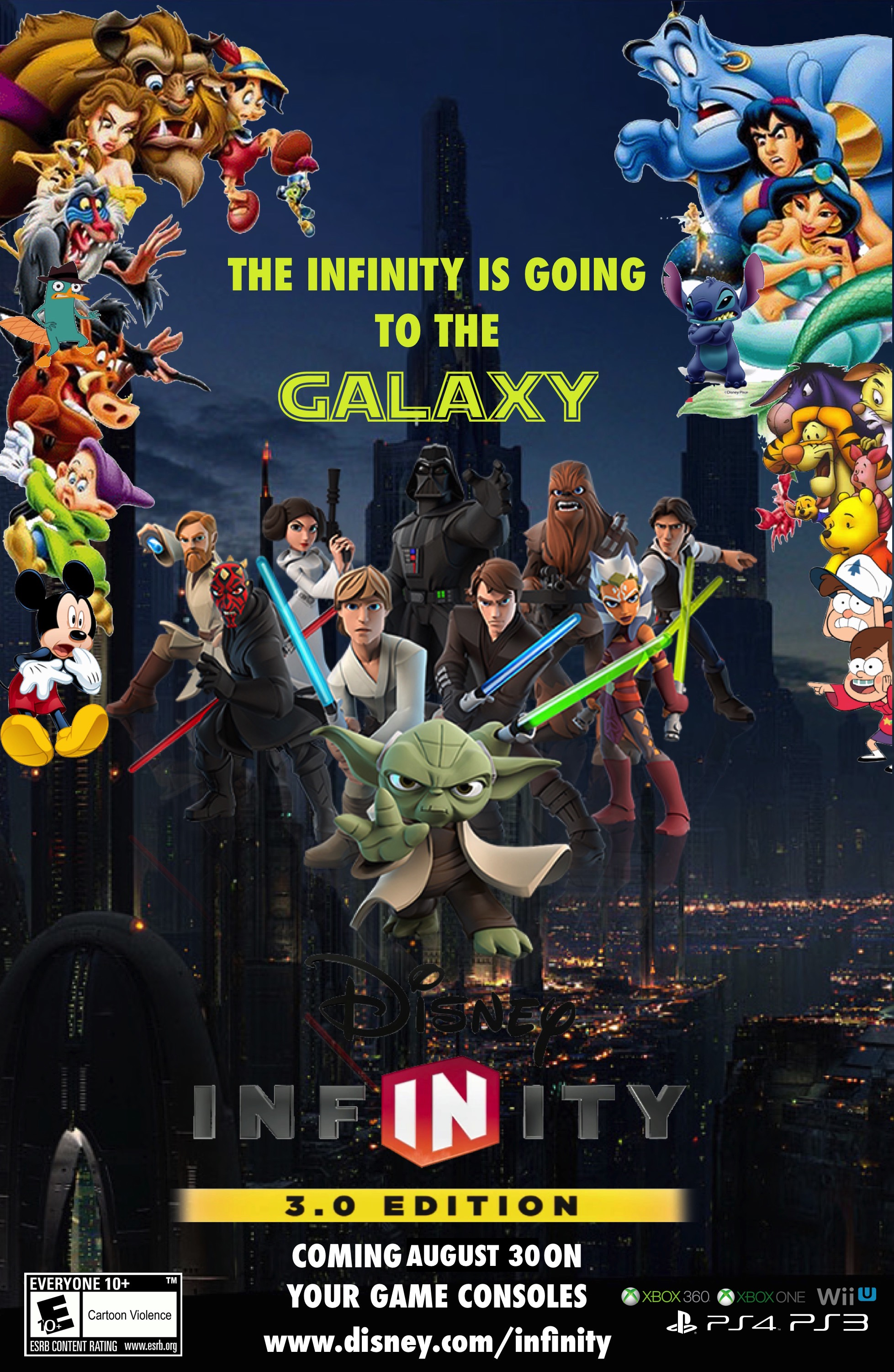 Disney Infinity 30   Poster RM FM by edogg8181804 1957x3000