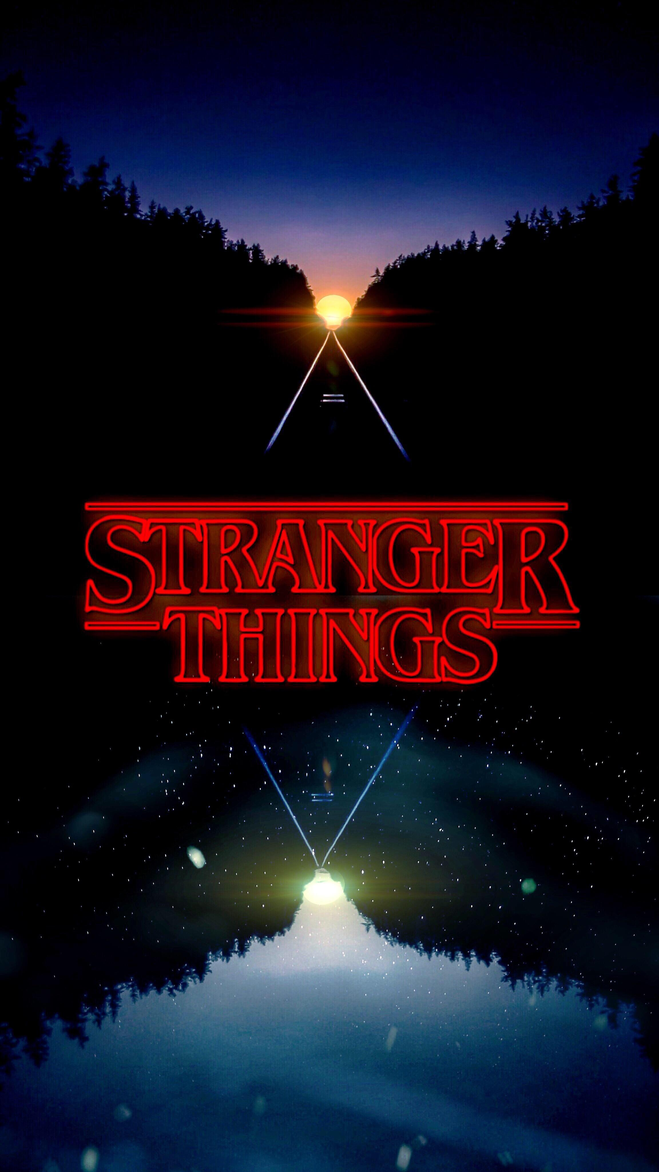Discussion] Stranger Things Fans A nice setup with this wallpaper 2304x4095