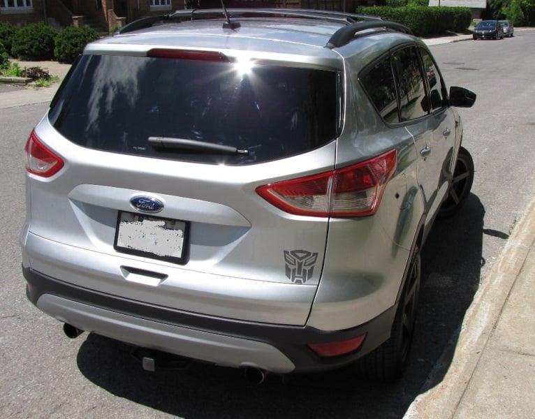 2013 Ford Escape Plasti Dip 766x600