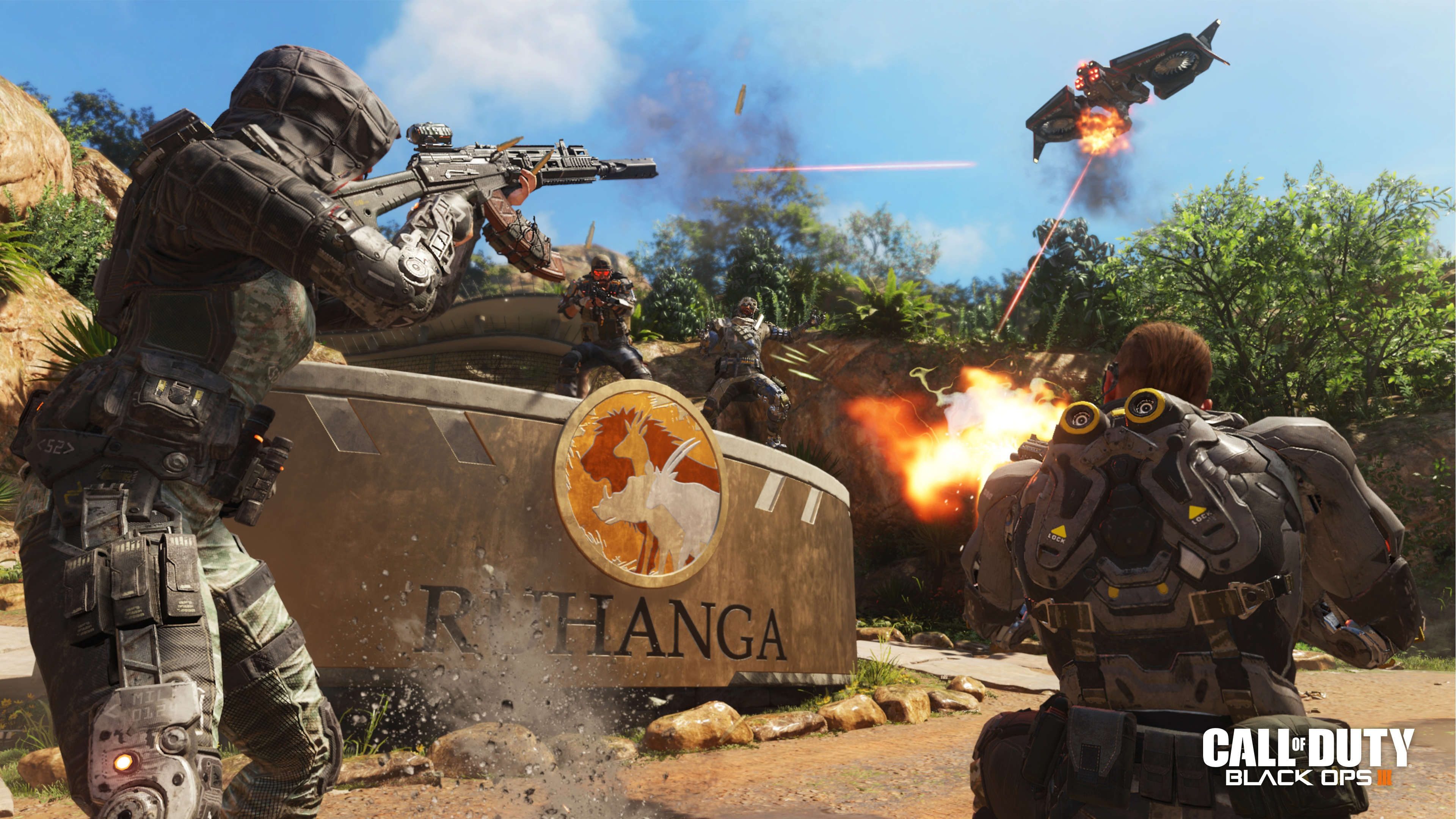 Call of Duty Black Ops 3 HD wallpapers download 3840x2160
