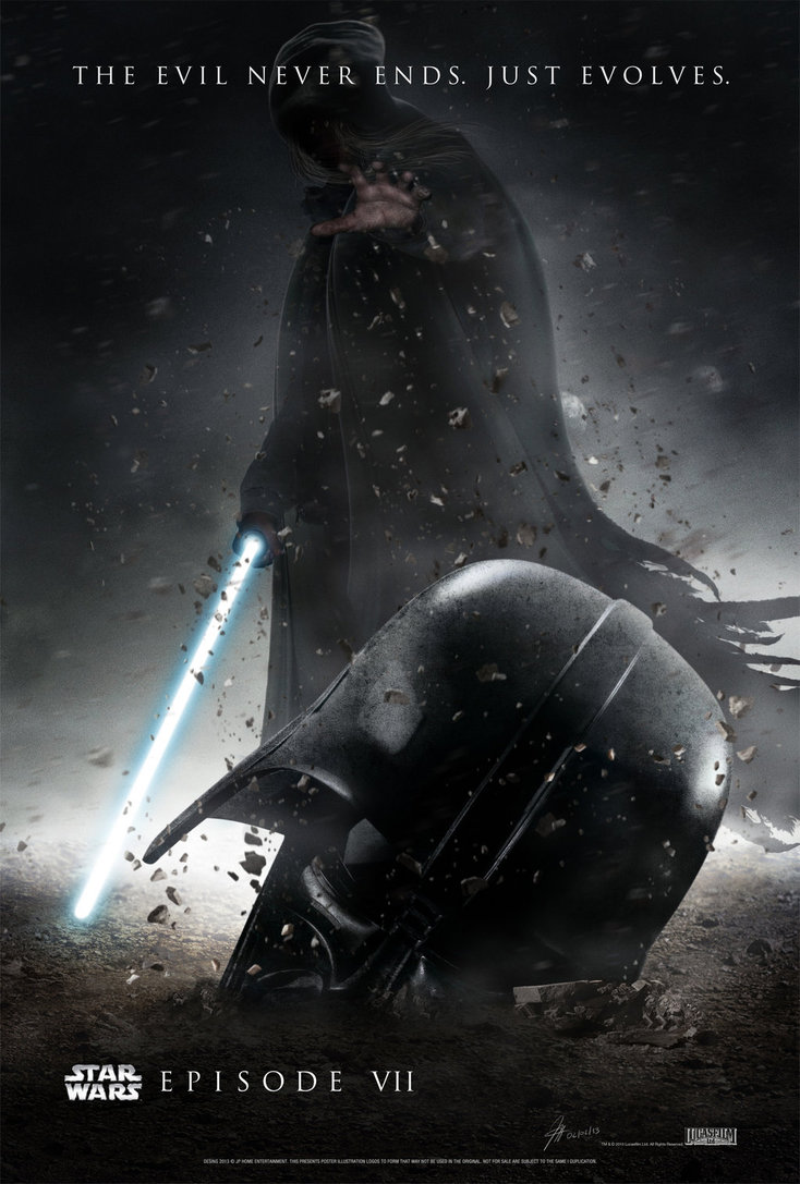 STAR WARS   Episode VII Poster Provisional by jphomeentertainment on 734x1087