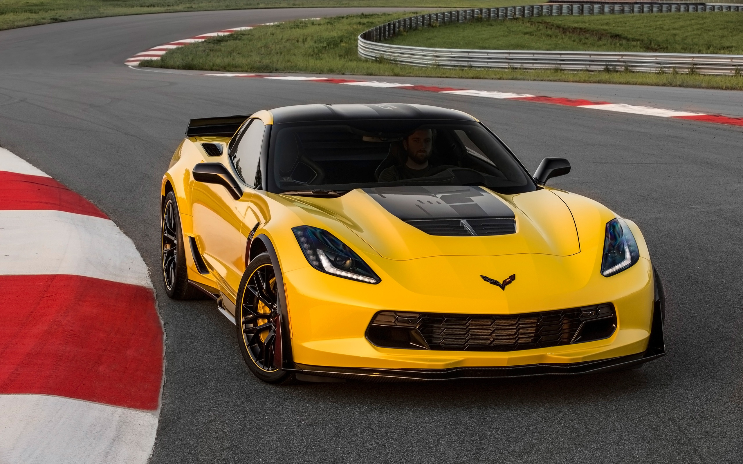 2016 Chevrolet Corvette Z06 C7 R Edition Wallpaper HD Car Wallpapers 2560x1600