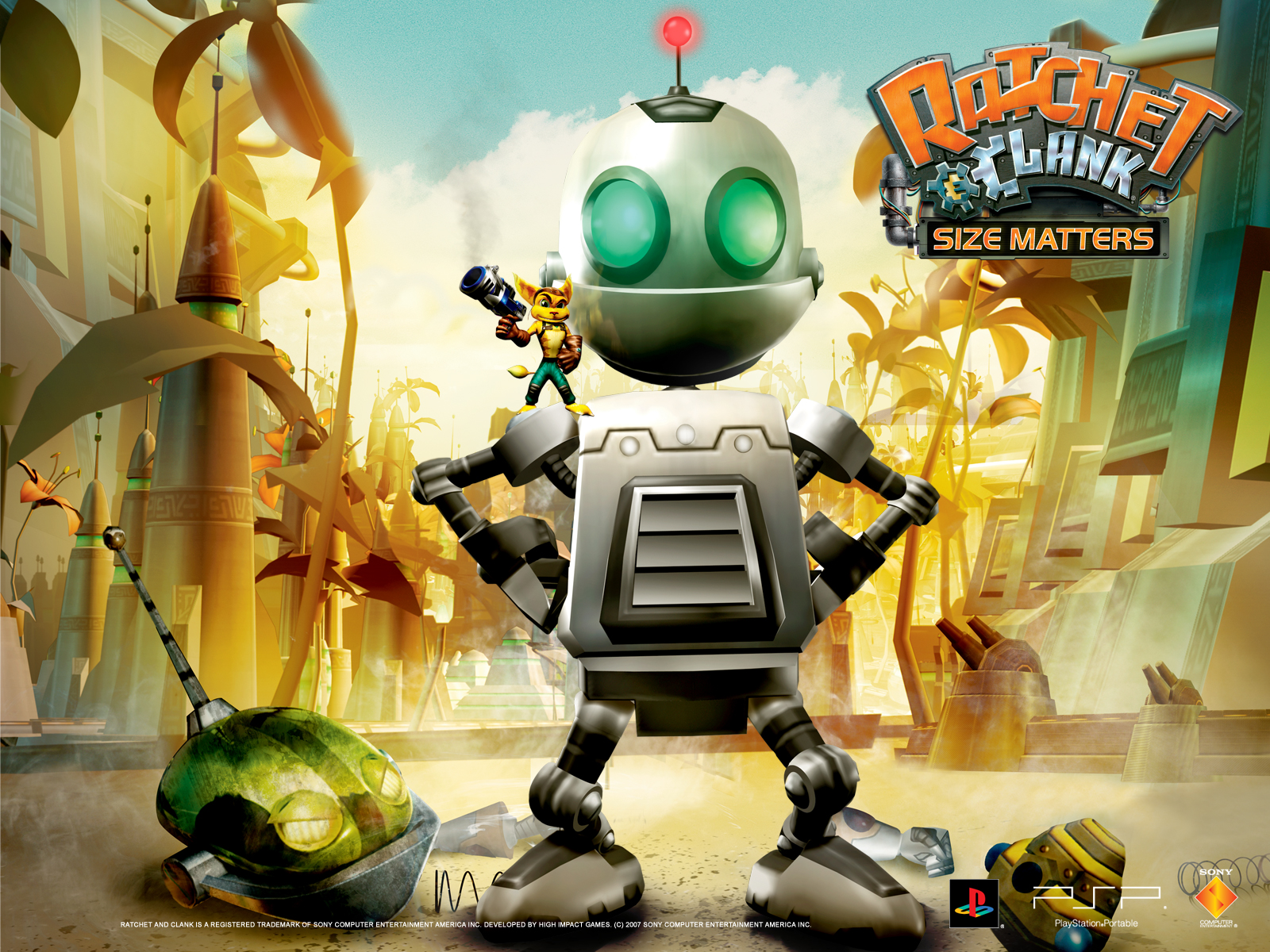 50 Ratchet And Clank Wallpapers On Wallpapersafari