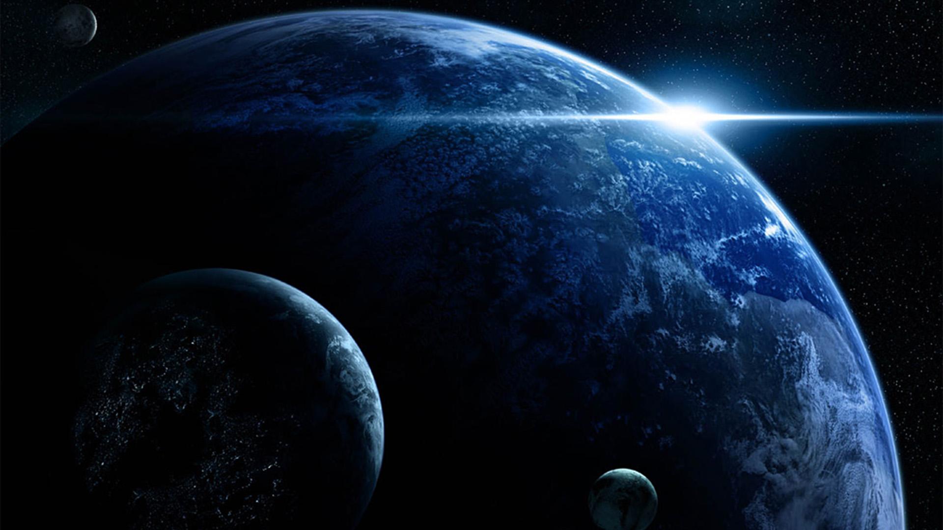 Обои планета космос орбита картинки на рабочий стол на тему Космос - скачать  № 1757017 без смс