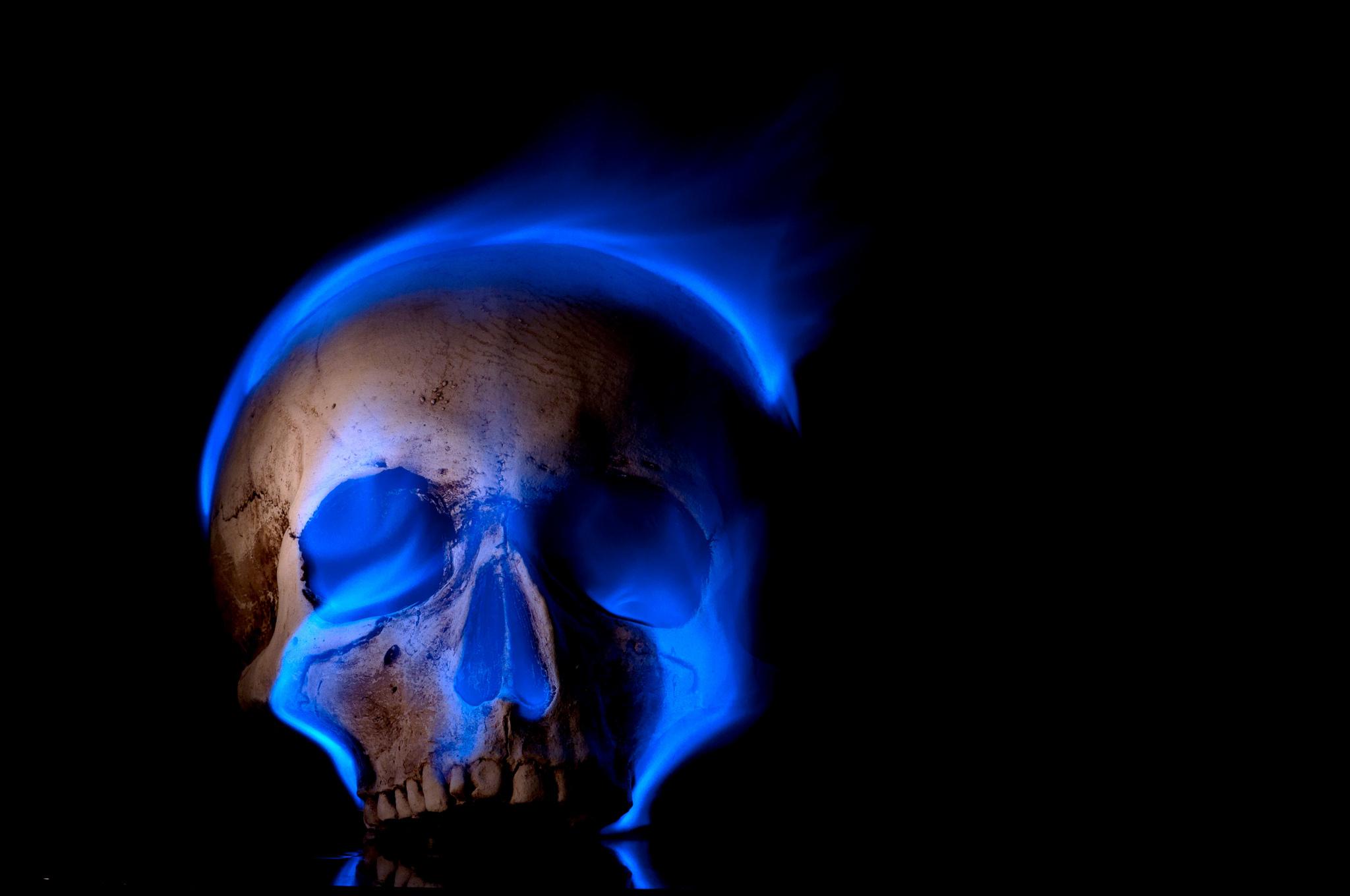 Wallpaper skull skull flame background wallpapers miscellanea 2048x1360