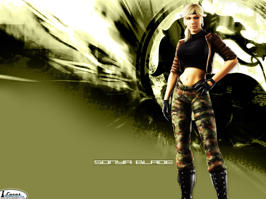Mortal Kombat Sonya Blade Wallpaper by m r x 1024x768