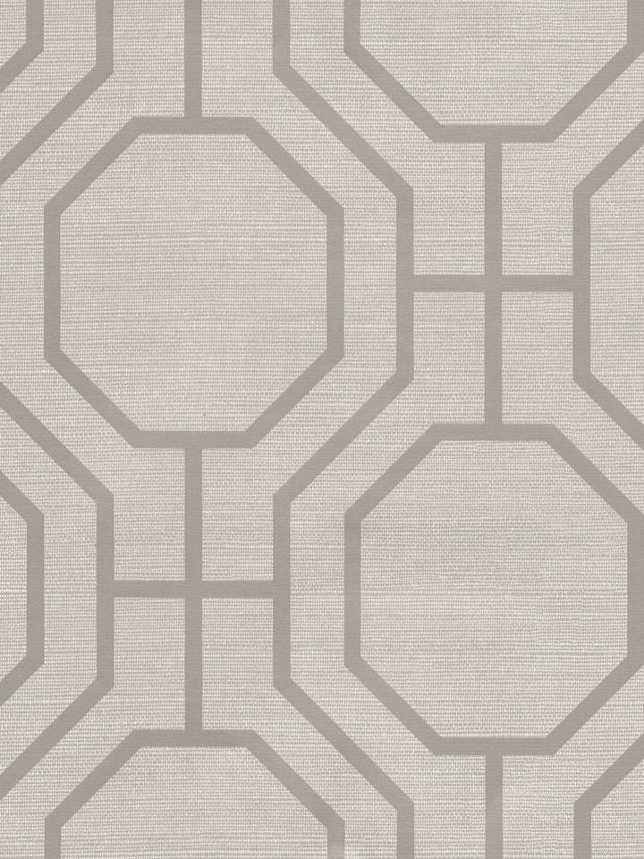 Grey Lattice Modern Wallpaper   Traditional Wallpaper 720x960