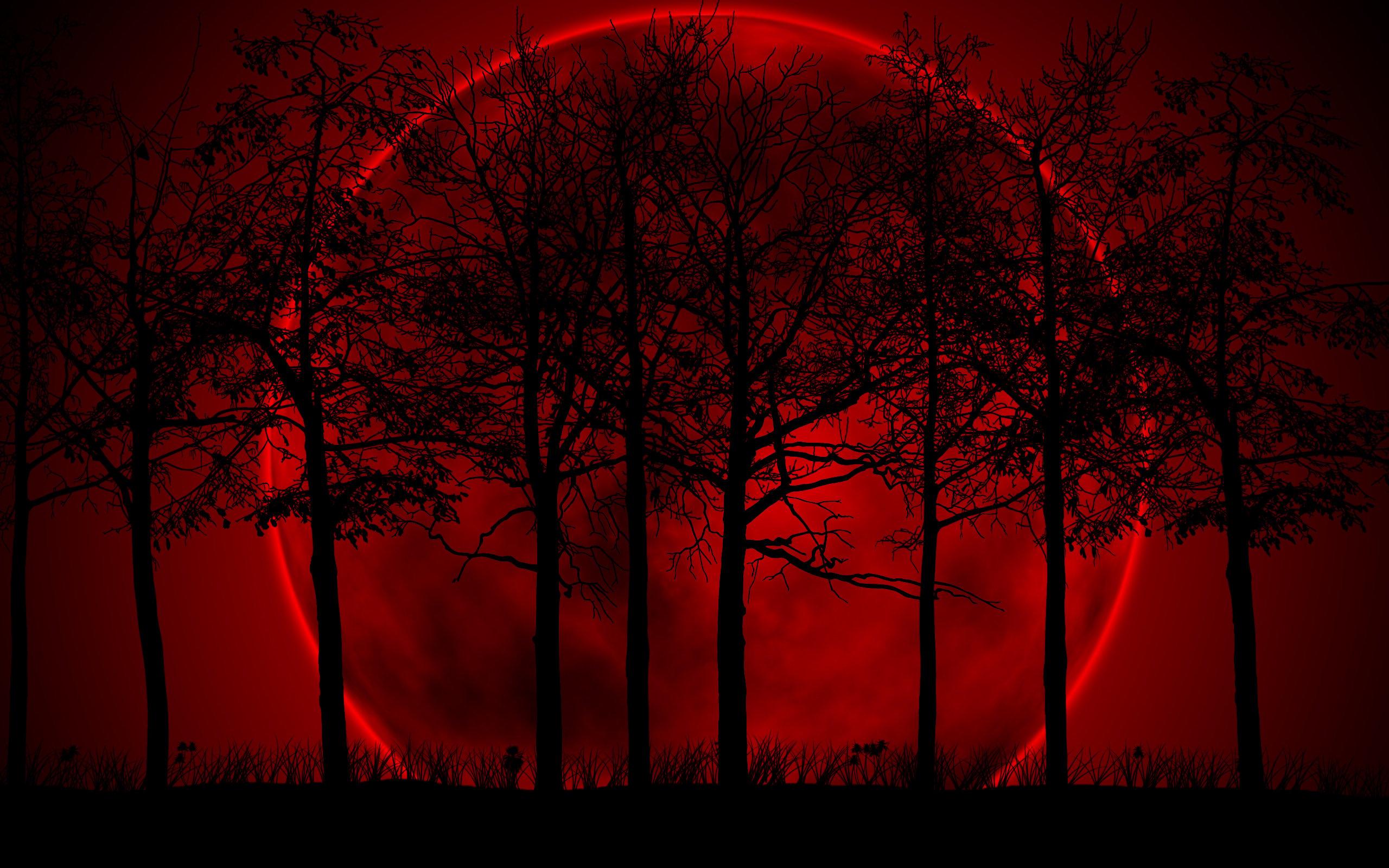 Blood Moon Wallpaper on WallpaperSafari