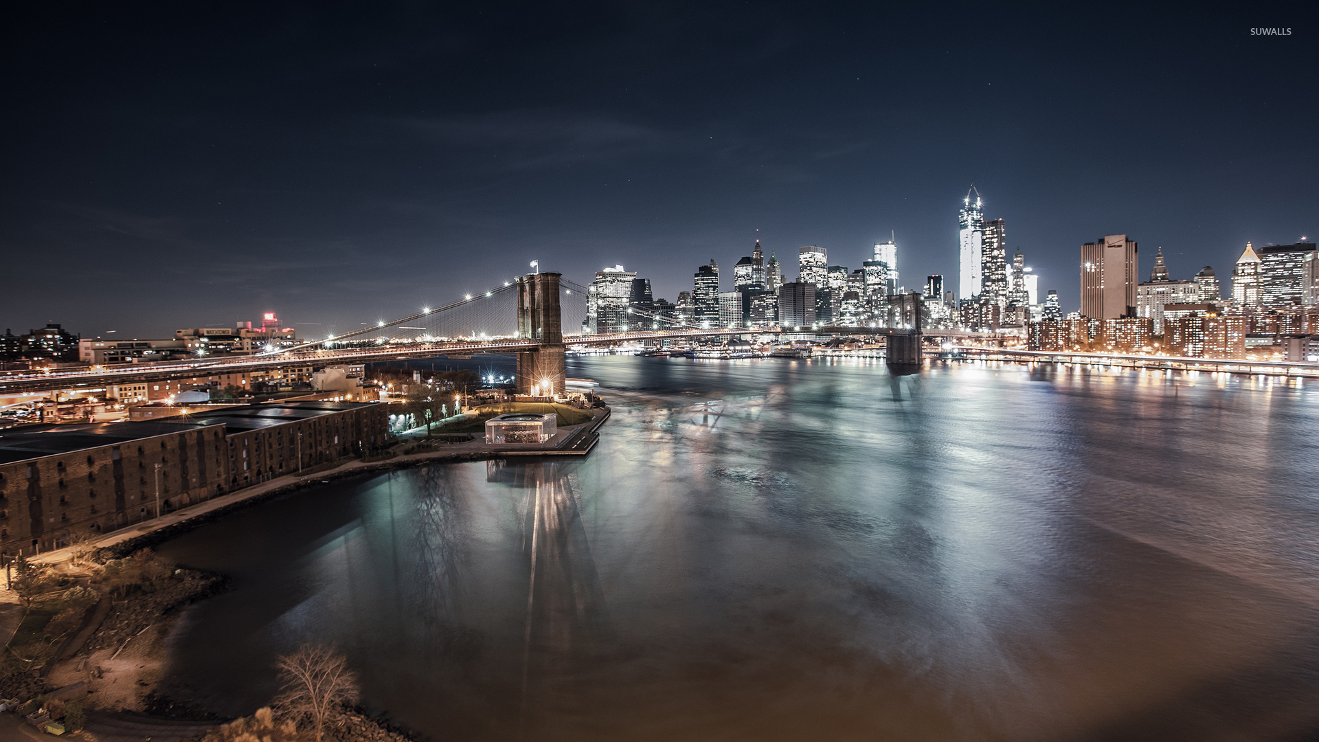 Free Download Brooklyn Bridge New York City Wallpaper World