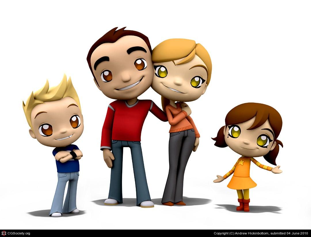 Cartoon Characters High : Hd wallpaper cartoon characters wallpapersafari