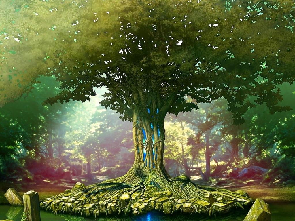 48 Tree Of Life Desktop Wallpaper On Wallpapersafari