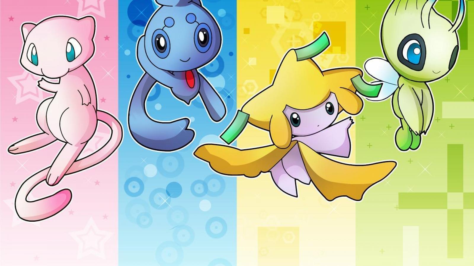 Mew Pokemon Wallpapers 1600x900