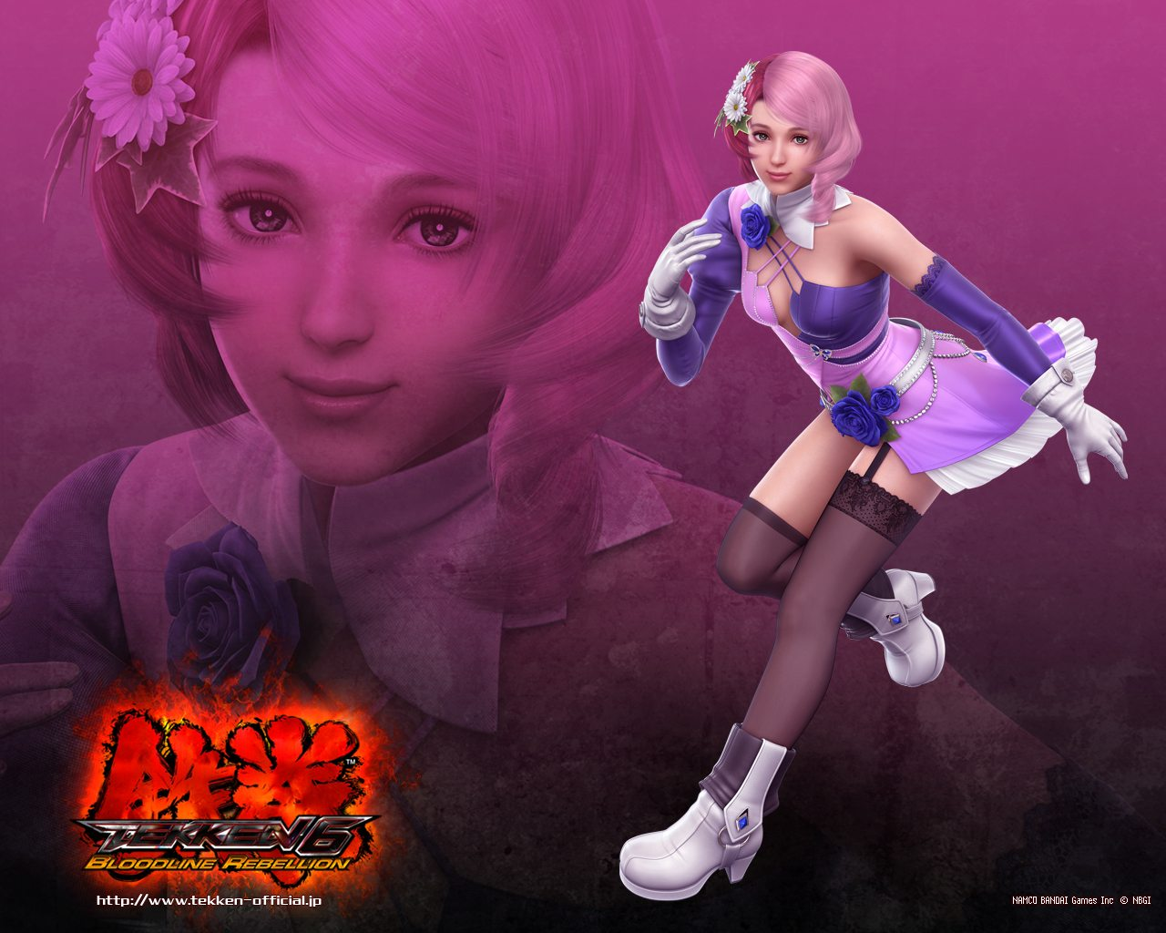 Alisa   Tekken 6 Wallpaper Gamebud 1280x1024